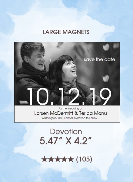 Devotion Save the Date Magnets