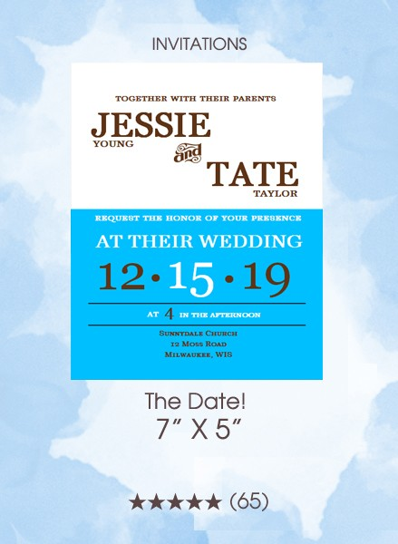 Invitations - The Date!