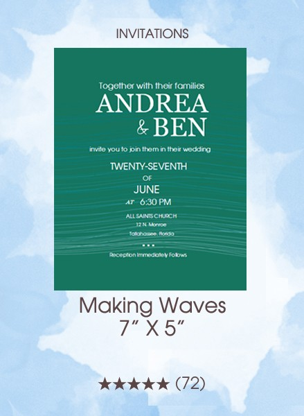 Invitations - Making Waves