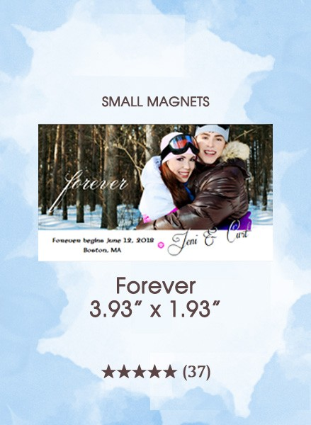 Forever, Too Small Save the Date Magnets