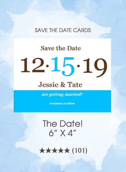 Save the Dates - The Date!