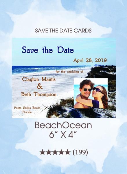 Save the Dates - BeachOcean
