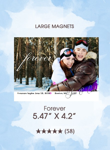 Forever Save the Date Magnets