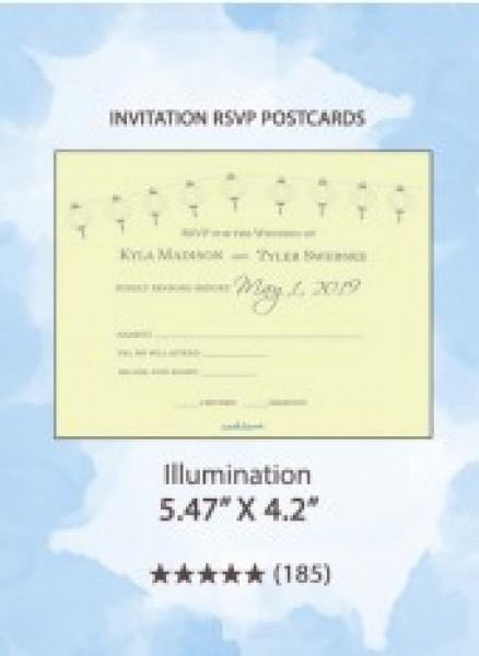 Illumination - RSVP Postcards