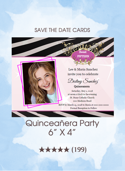 Invitations - Quinceañera Party