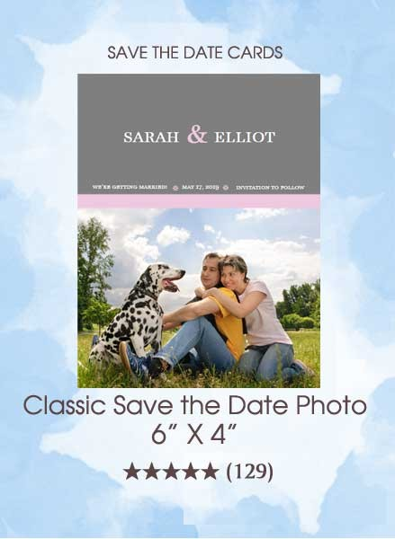 Save the Dates - Classic Save the Date Photo