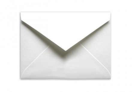 Standard Postcard White Envelopes