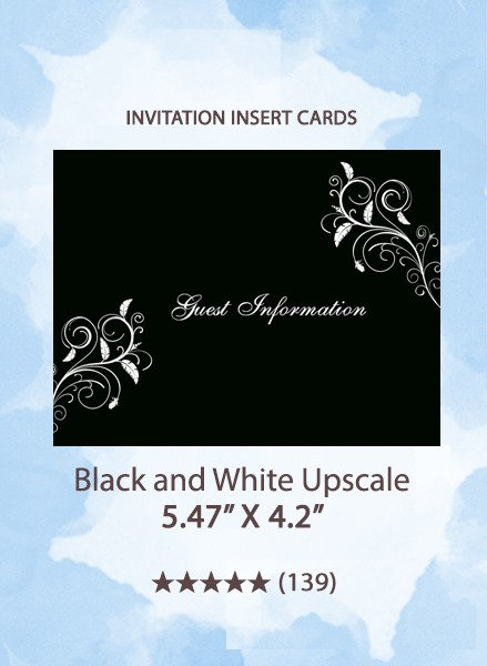 Black and White Upscale