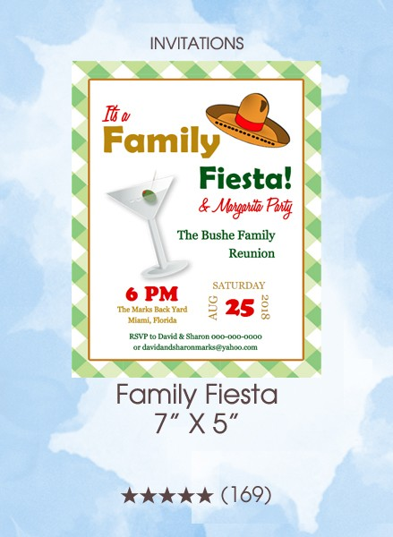 Invitations - Family Fiesta