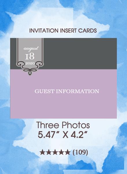Three Photos - Insert Cards