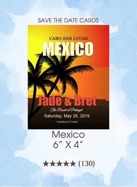 Save the Dates - Mexico