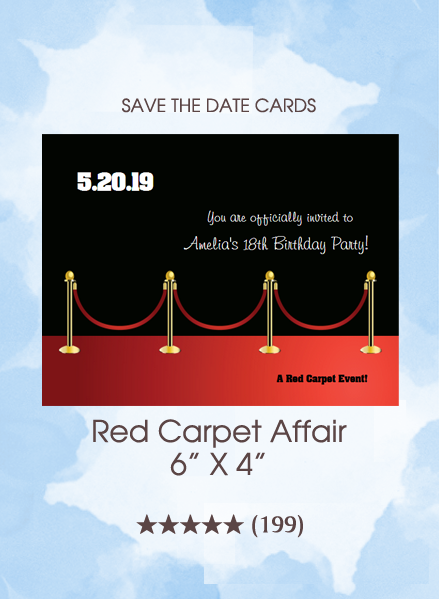 Save the Dates - Red Carpet Affair