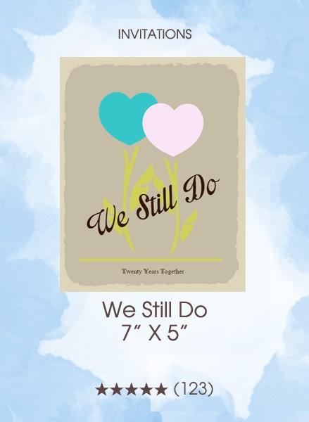 Invitations - We Still Do