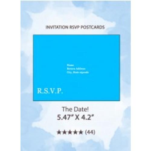The Date! - RSVP Postcards