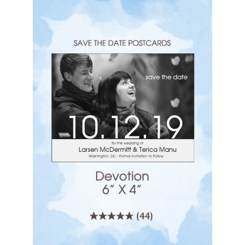 Devotion Save the Date Postcards
