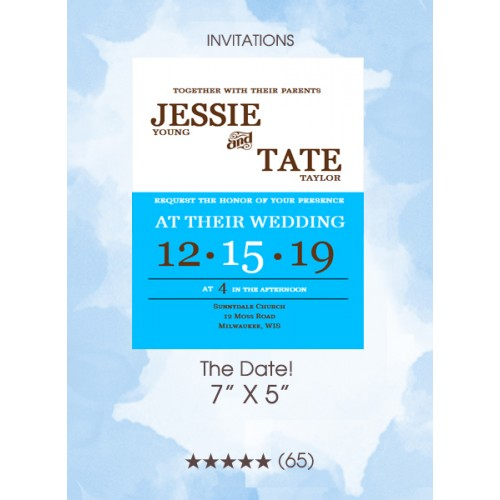 Invitations - The Date!