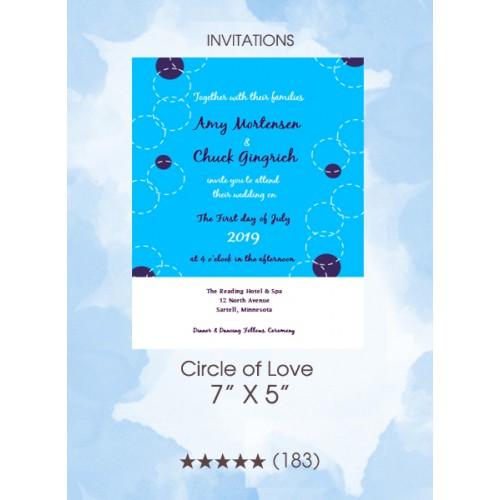 Invitations - Circle of Love