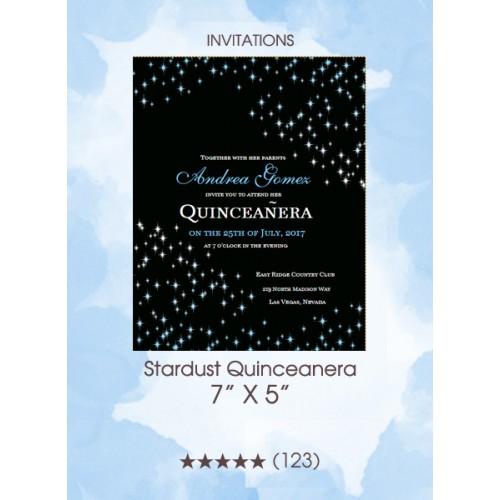 Stardust Quinceanera - Invitations