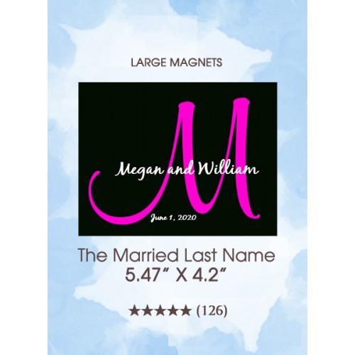 The Married Last Name Monogram