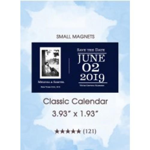 Classic Calendar Small Magnet