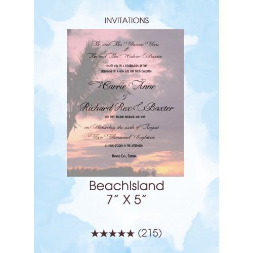 Invitations - BeachIsland
