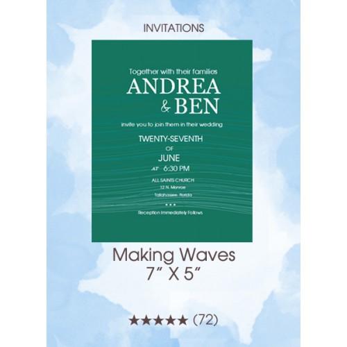 Invitations - Making Waves