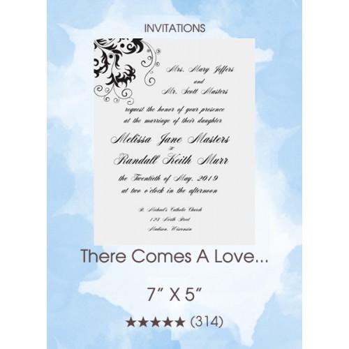 There Comes A Love... Invitations