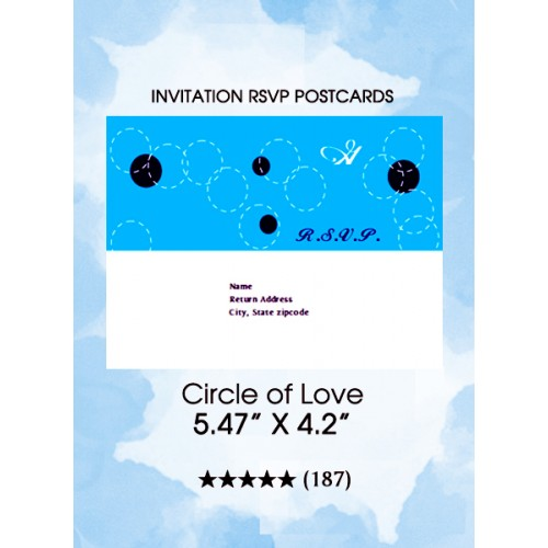 Circle of Love - RSVP Postcards