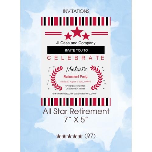 Invitations - All Star Retirement