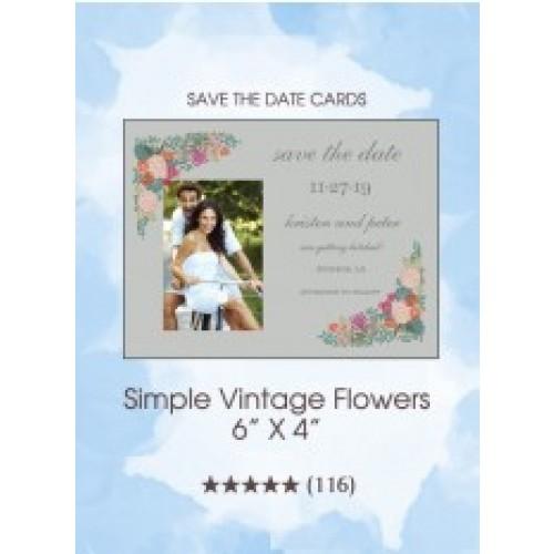 Simple Vintage Flowers