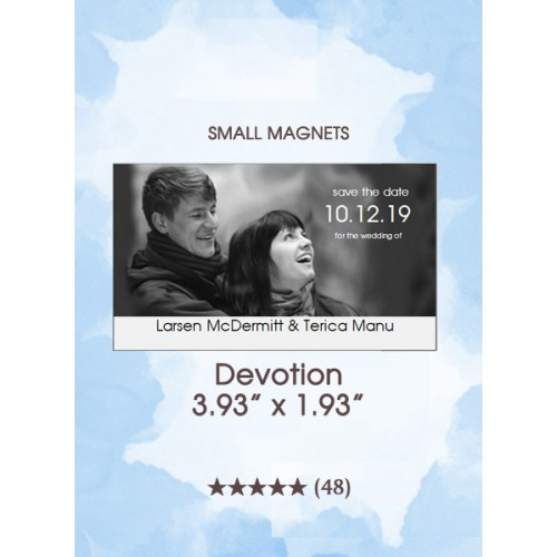 Devotion, Too Save the Date Small Magnets