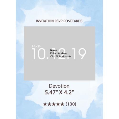 Devotion - RSVP Postcards