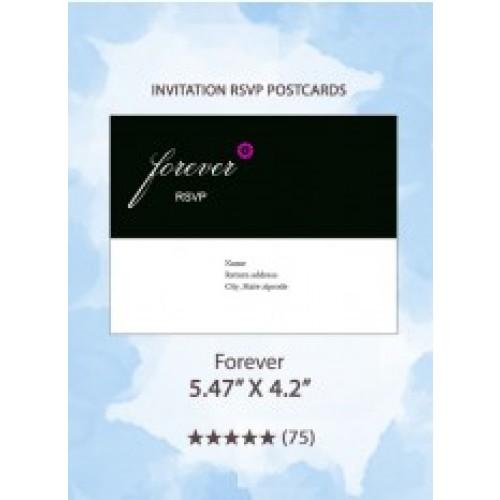 Forever - RSVP Postcards