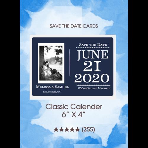 Save the Dates - Classic Calendar