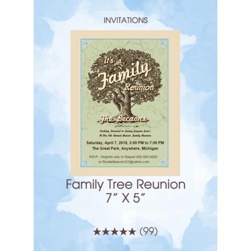 Invitations - Family Tree Reunion
