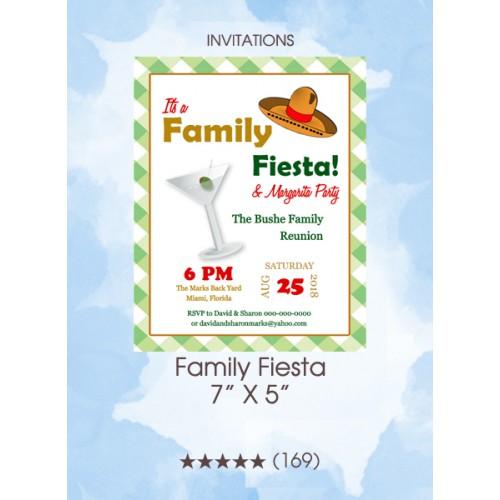 Invitations - Family Fiesta