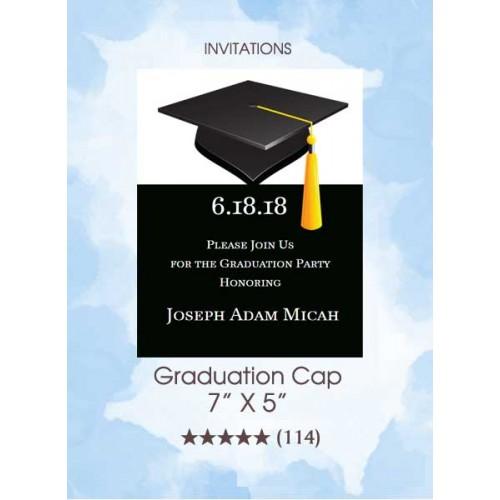 Invitations - Graduation Cap