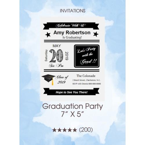Invitations - Graduation Party