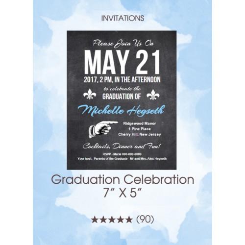 Invitations - Graduation Celebration