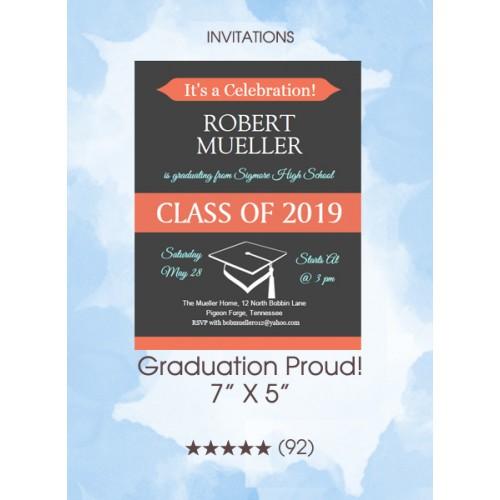 Invitations - Graduation Proud!