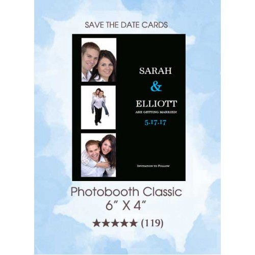 Save the Dates - Photobooth Classic