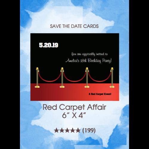 Save the Dates - Red Carpet Affair