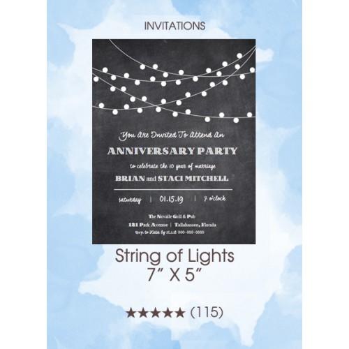 Invitations - String of Lights