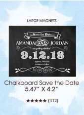 Save the Dates - Chalkboard Save the Date