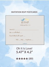 Oh It Is Love! - RSVP Postcards