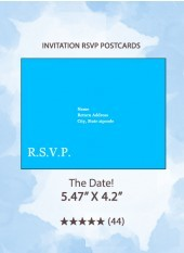 The Date! - RSVP Postcards