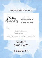 Together - RSVP Postcards