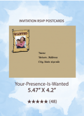 Your-Presence-Is-Wanted - RSVP Postcards