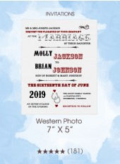 Invitations - Western Photo