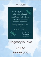 Invitation - Dragonfly in Love